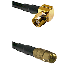 SMC Right Angle Female on LMR100 to MMCX Female Cable Assembly