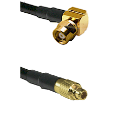SMC Right Angle Female on LMR100 to MMCX Male Cable Assembly