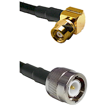 SMC Right Angle Female on LMR200 UltraFlex to C Male Cable Assembly
