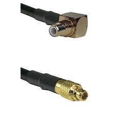 SMC Right Angle Male on LMR100 to MMCX Male Cable Assembly