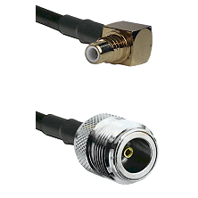 SMC Right Angle Male on LMR200 UltraFlex to N Female Cable Assembly
