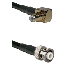 SMC Right Angle Male on RG142 to MHV Male Cable Assembly