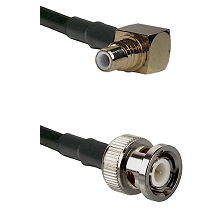 SMC Right Angle Male on RG400 to BNC Male Cable Assembly