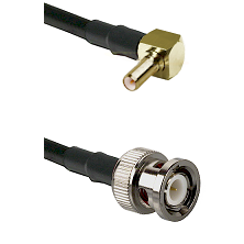 SSLB Right Angle Male on LMR100 to BNC Male Cable Assembly