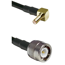 SSLB Right Angle Male on LMR100 to C Male Cable Assembly