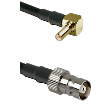 SSLB Right Angle Male on RG316 to C Female Cable Assembly