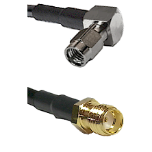 SSMA Right Angle Male Connector On RG188A/U To SSMA Female Connector Cable Assembly