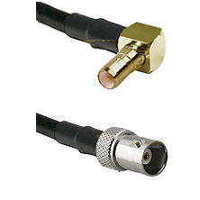 SSMB Right Angle Male on LMR100 to BNC Female Cable Assembly