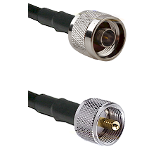 N Reverse Thread Male on LMR240 Ultra Flex to UHF Male Cable Assembly