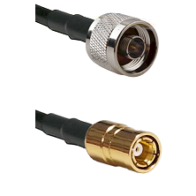 N Reverse Thread Male Connector On RG188A/U To SMB Female Connector Cable Assembly