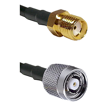 SMA Reverse Thread Female on LMR-195-UF UltraFlex to TNC Reverse Polarity Male Coaxial Cable Assembl