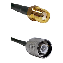 SMA Reverse Thread Female Connector On LMR-240UF UltraFlex To SC Male Connector Coaxial Cable Assemb