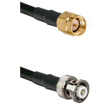 SMA Reverse Thread Male on LMR-195-UF UltraFlex to MHV Male Cable Assembly