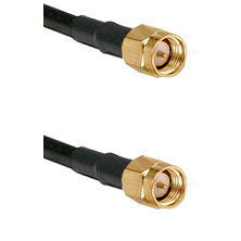 Reverse Thread SMA Male To Standard SMA Male Connectors RG213 Cable Assembly
