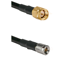 SMA Reverse Thread Male on RG58C/U to 10/23 Male Cable Assembly
