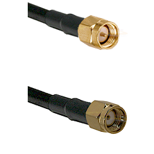 SMA Reverse Thread Male on RG58C/U to SMA Reverse Polarity Male Cable Assembly