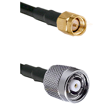 SMA Reverse Thread Male on RG58C/U to TNC Reverse Polarity Male Cable Assembly