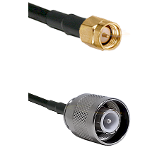 SMA Reverse Thread Male on RG58 to SC Male Cable Assembly