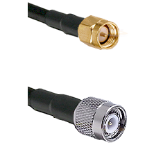 SMA Reverse Thread Male on RG58C/U to TNC Male Cable Assembly
