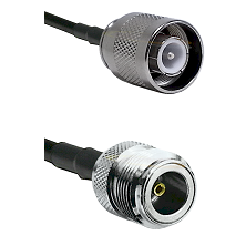SC Male on RG142 to N Female Cable Assembly