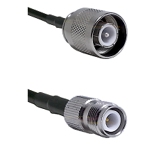 SC Male on RG142 to TNC Reverse Polarity Female Cable Assembly