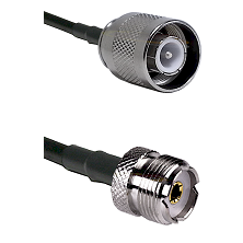 SC Male on RG142 to UHF Female Cable Assembly