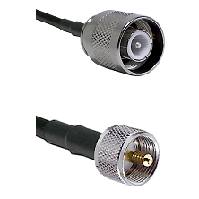 SC Male on RG142 to UHF Male Cable Assembly