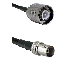 SC Male on RG400 to BNC Female Cable Assembly