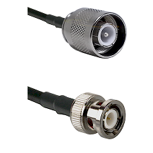 SC Male on RG400 to BNC Male Cable Assembly