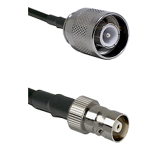 SC Male on RG400 to C Female Cable Assembly