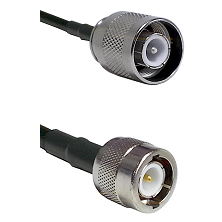 SC Male on RG400 to C Male Cable Assembly
