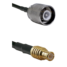 SC Male on RG400 to MCX Male Cable Assembly