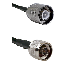 SC Male on RG400 to N Male Cable Assembly