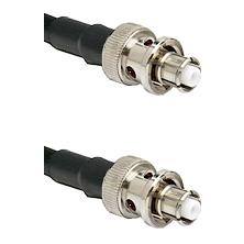 SHV Plug on Belden 83242 RG142 to SHV Plug Cable Assembly