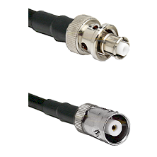 SHV Plug on LMR-195-UF UltraFlex to MHV Female Cable Assembly