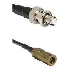 SHV Plug on LMR-195-UF UltraFlex to SLB Female Cable Assembly