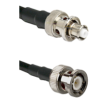 SHV Plug on LMR200 UltraFlex to BNC Male Cable Assembly