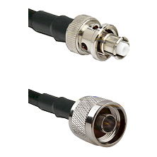 SHV Plug on LMR200 UltraFlex to N Male Cable Assembly