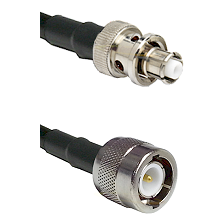 SHV Plug on RG142 to C Male Cable Assembly