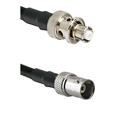 SHV Plug on RG58C/U to BNC Female Cable Assembly