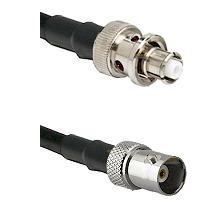 SHV Plug on RG58C/U to BNC Female Cable Assembly