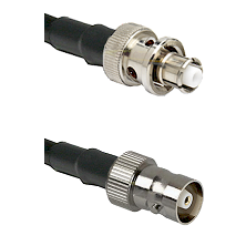 SHV Plug on RG58C/U to C Female Cable Assembly
