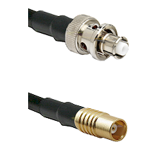 SHV Plug on RG58C/U to MCX Female Cable Assembly