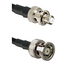 SHV Plug on RG58C/U to BNC Reverse Polarity Male Cable Assembly