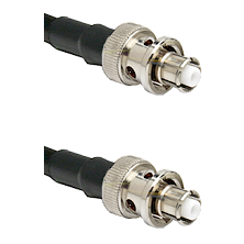 SHV Plug on RG58C/U to SHV Plug Cable Assembly