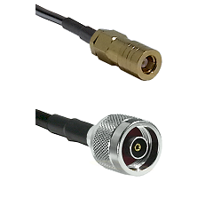 SLB Female on LMR100 to N Reverse Polarity Male Cable Assembly
