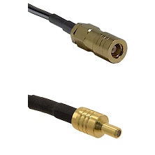 SLB Female on LMR100 to SSLB Male Cable Assembly