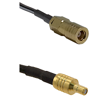 SLB Female on LMR100/U to SSMB Male Cable Assembly