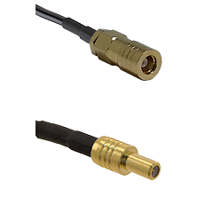SLB Female on LMR-195-UF UltraFlex to SLB Male Cable Assembly