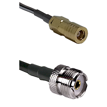 SLB Female on LMR-195-UF UltraFlex to UHF Female Cable Assembly